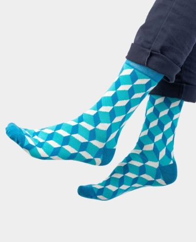 OH SOX. Kvepiančios kojinės SKARDINĖJE  Blue Cube