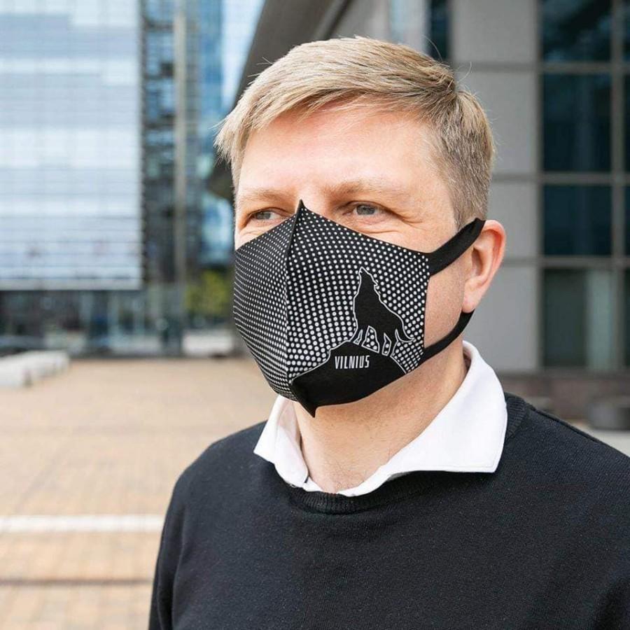 Personalizuota daugkartinė veido kaukė