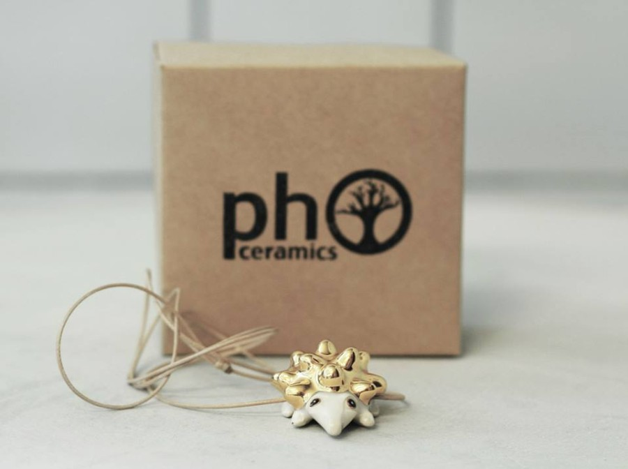 Pho ceramics kaklo papuošalas