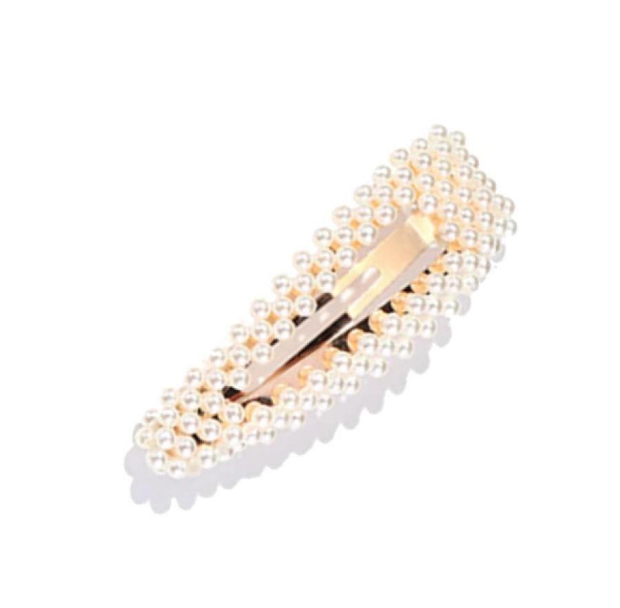 CINAMONN. Plaukų segtukas su perlais