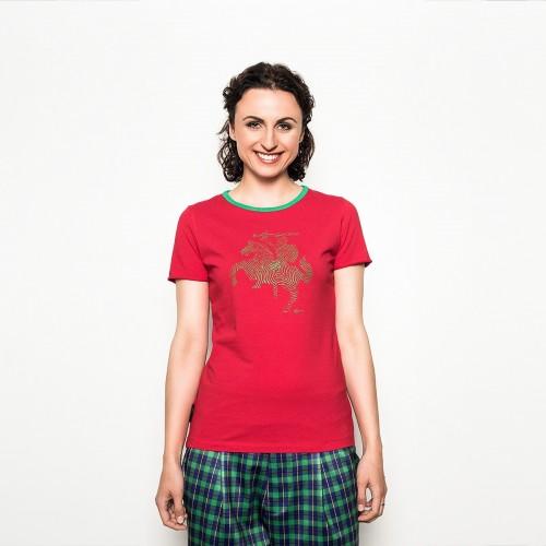 """Raudoni marškinėliai """"VYTIS"""". LT Identity"""