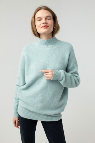 ROBI AGNES. SWEATER 'EMILIE' MINT