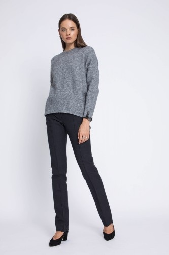 ROBI AGNES. SWEATER 'ROBI' GREY